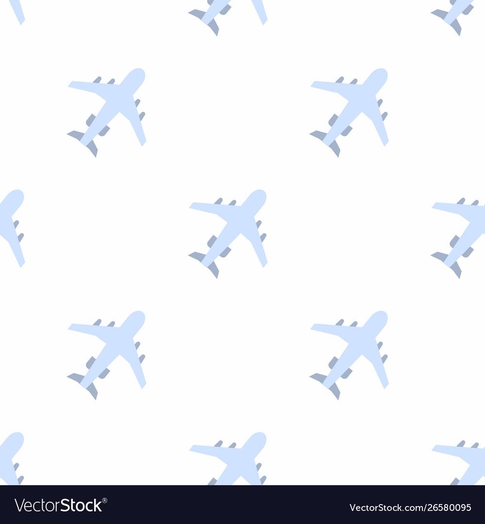 Plane icon pattern