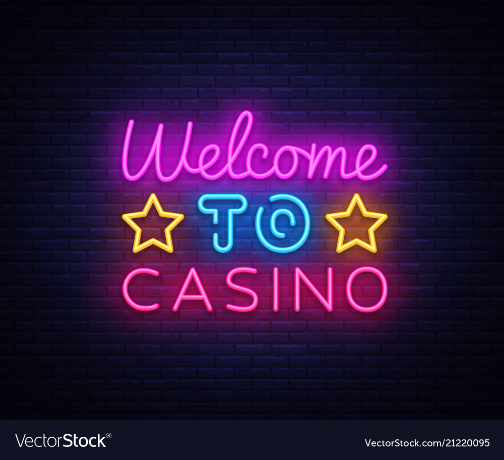 Welcome to casino sign design template