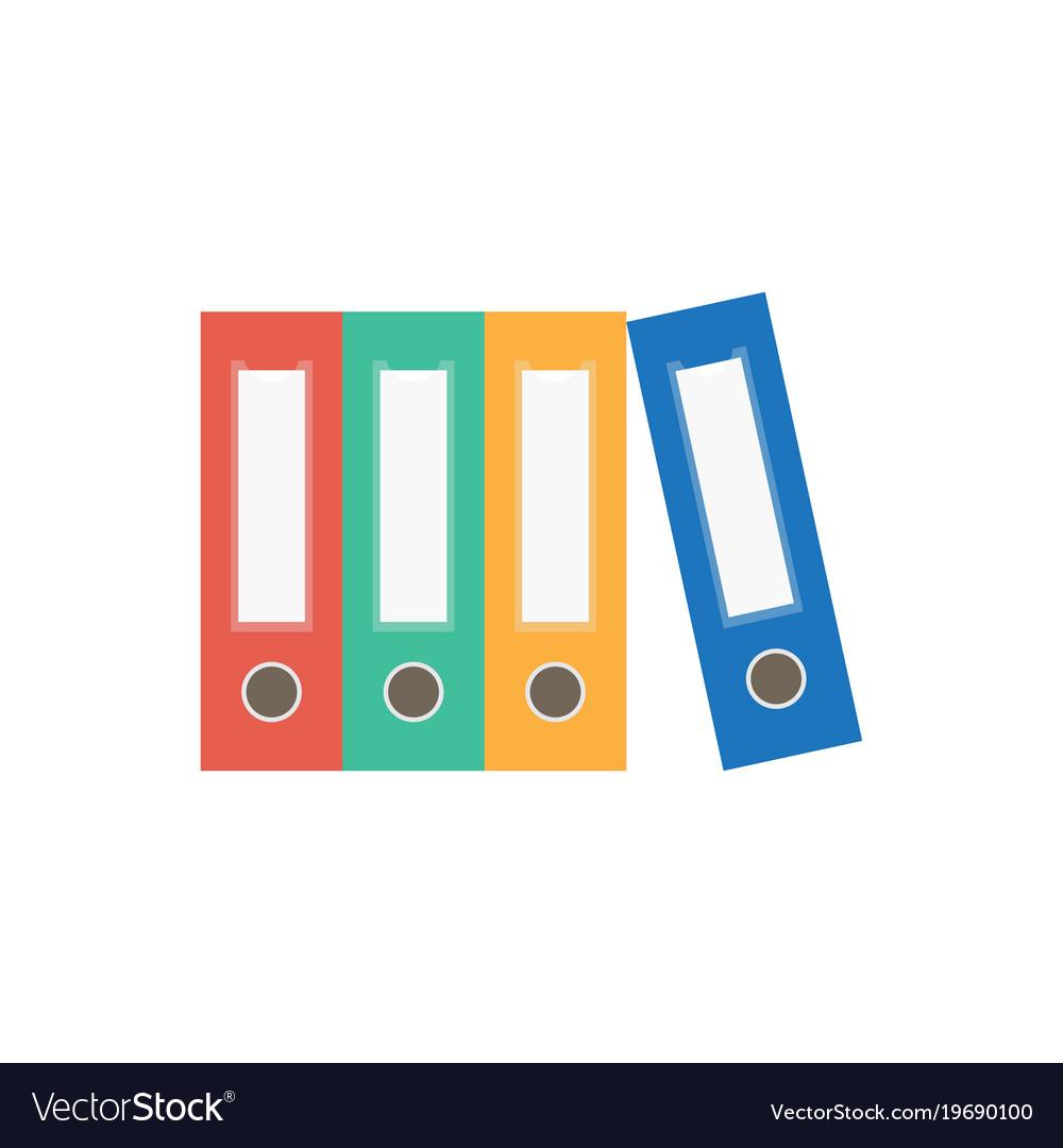 File folder icon binder