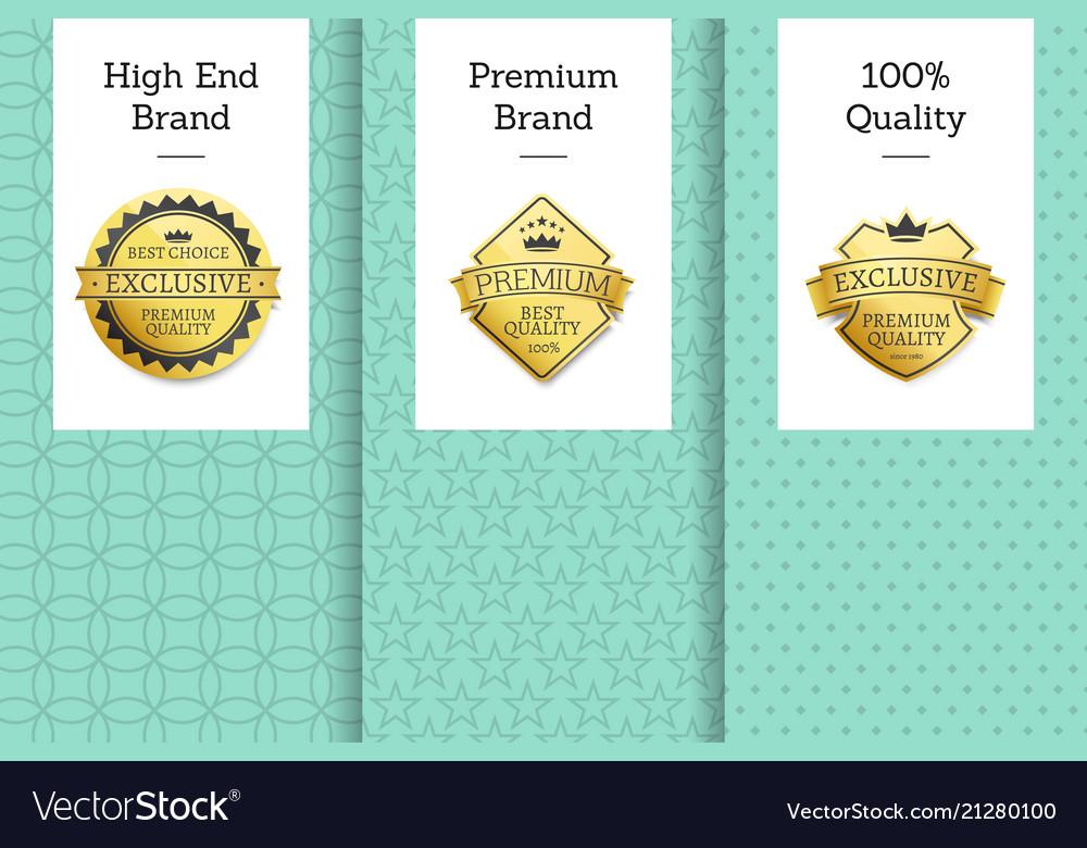 High end brand premium 100 quality best choice
