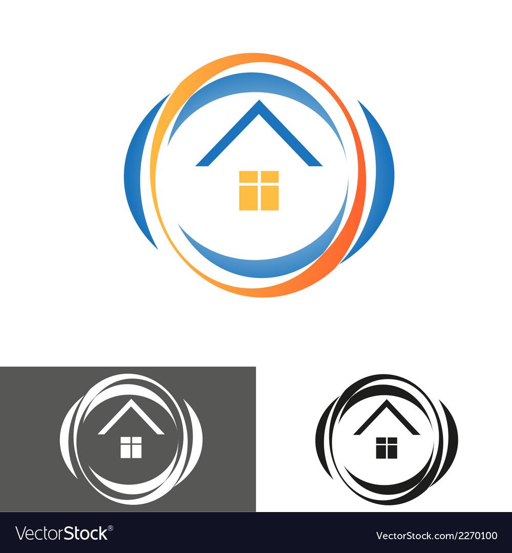 House home logo icon