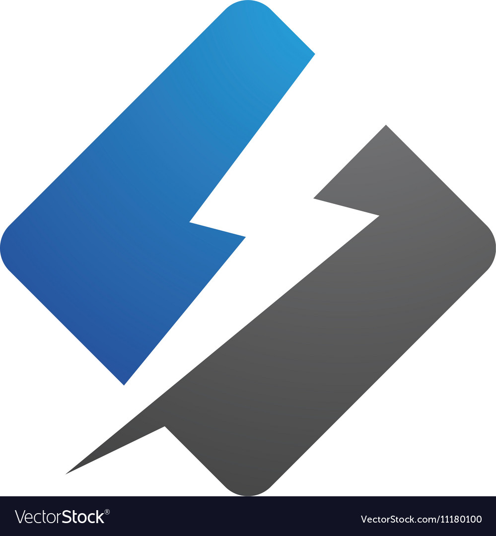 Power logo template vector image