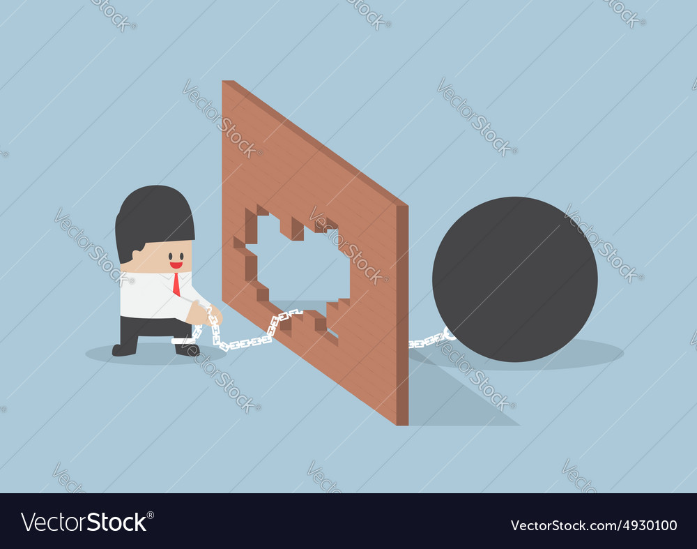 turn crisis into opportunity royalty free vector image