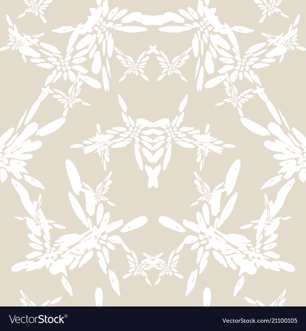 Butterfly seamless print