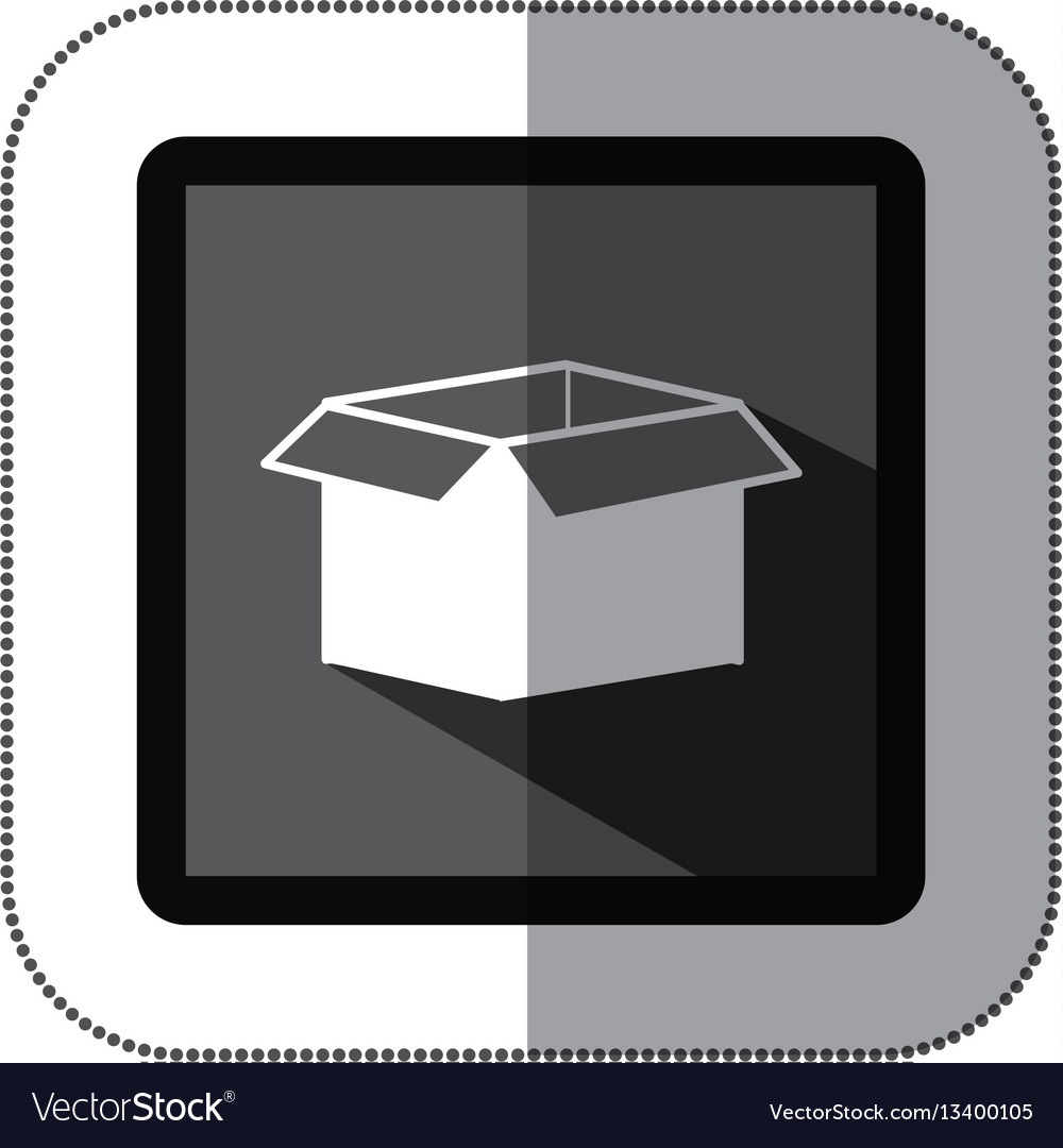 Contour box open icon