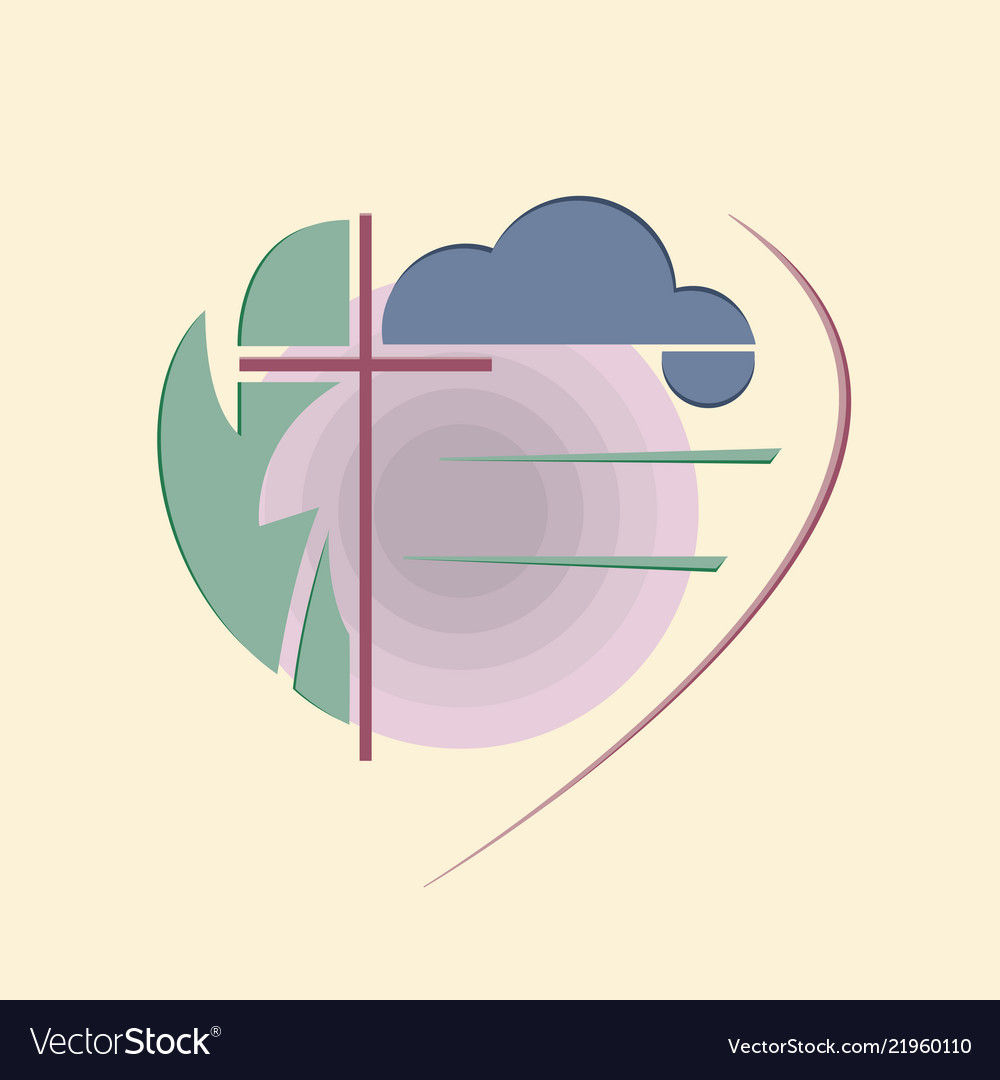 Abstract religious logo