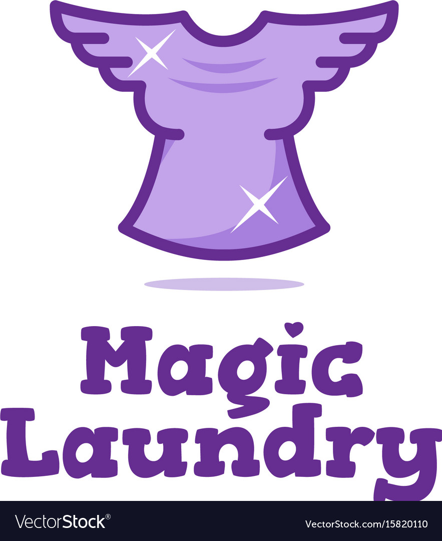 Creative laundry logo