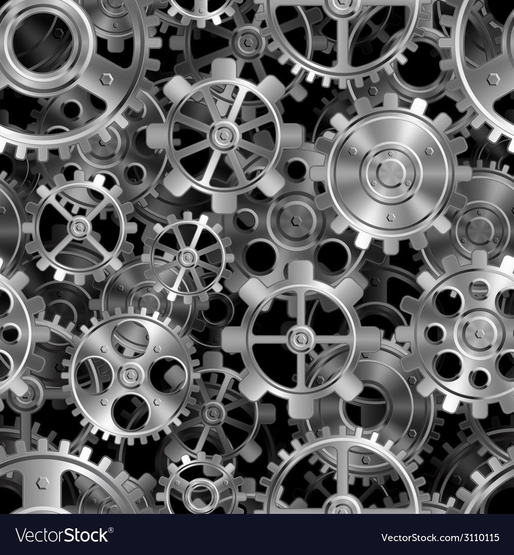 Metal gears pattern
