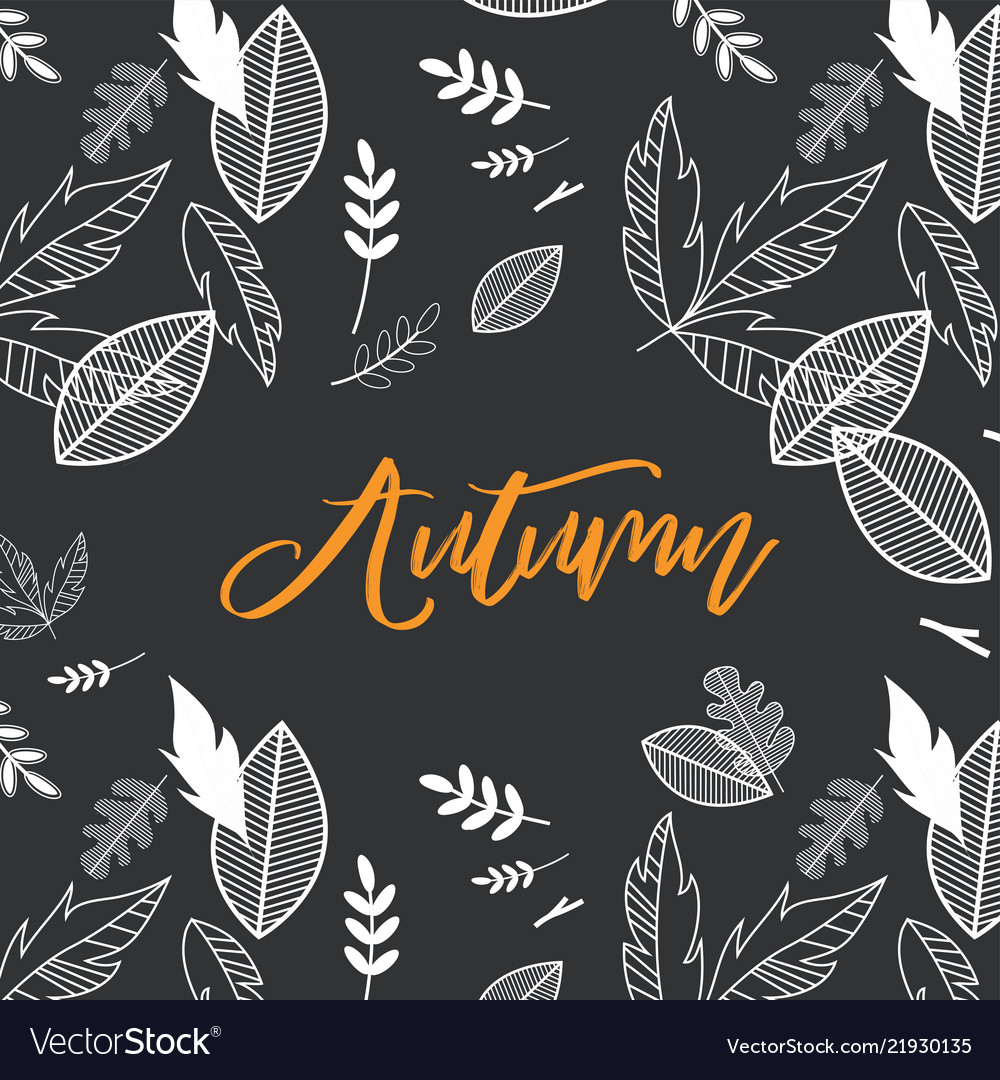 Fall autumn season with