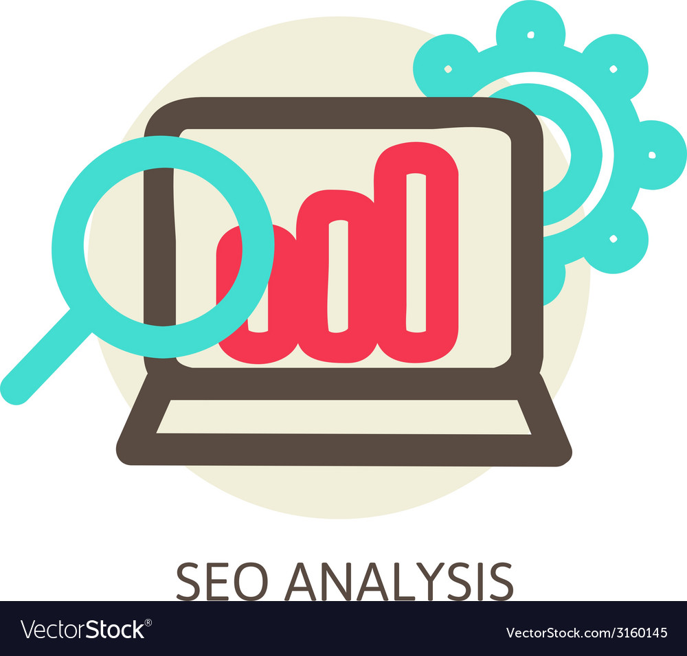 SEO analysis process concept