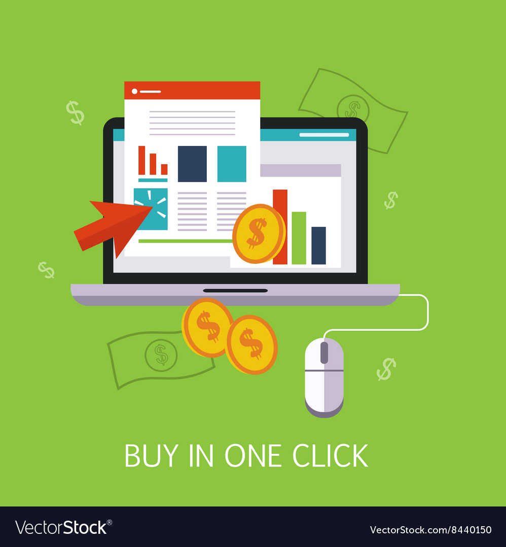 Buy In One Click Concept Art