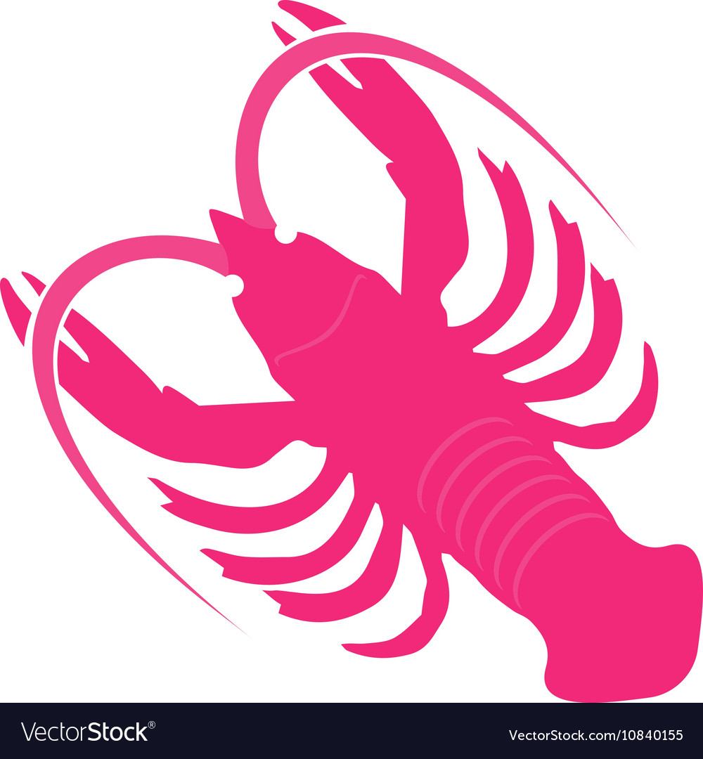 Crayfish Icon vector image