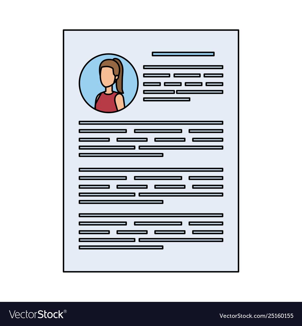 Female Curriculum Vitae Document