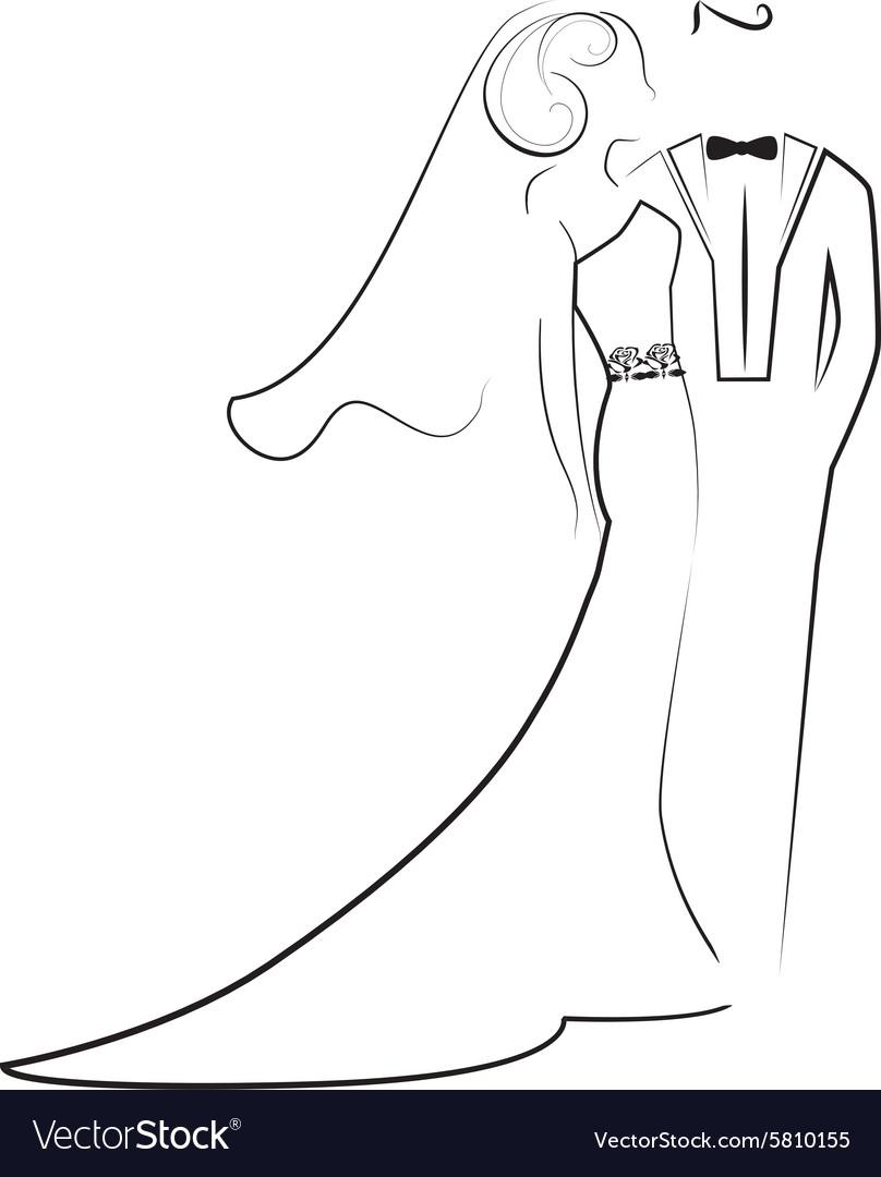 Wedding 3 vector image