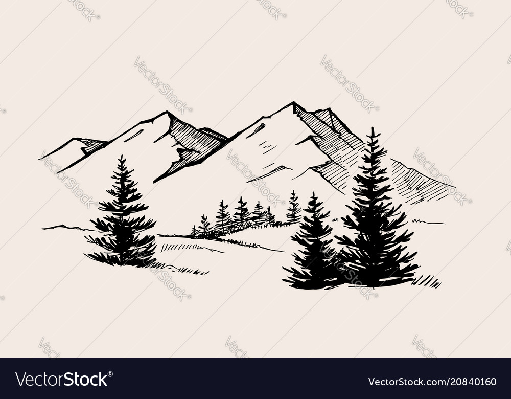 Mountain landscape nature