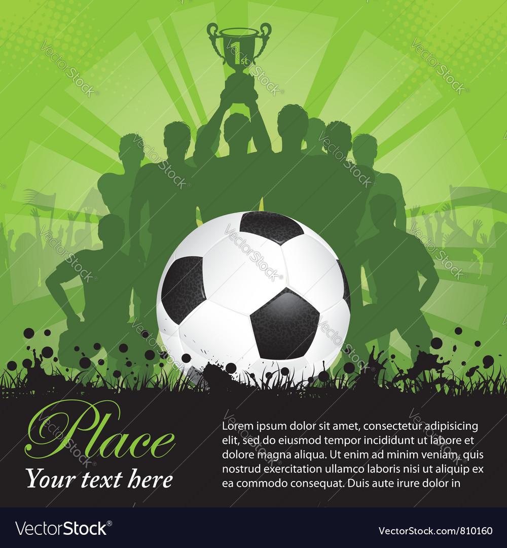 Soccer Winning team