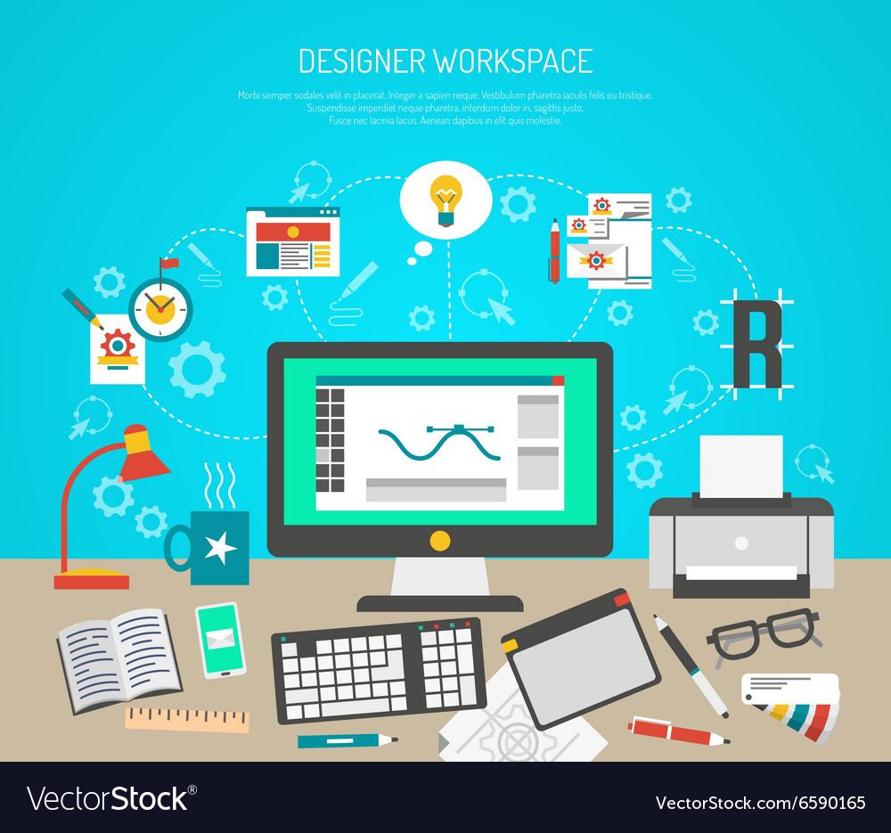 Designer Workspace Concept
