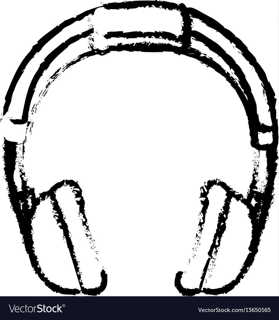Headphone music device icon