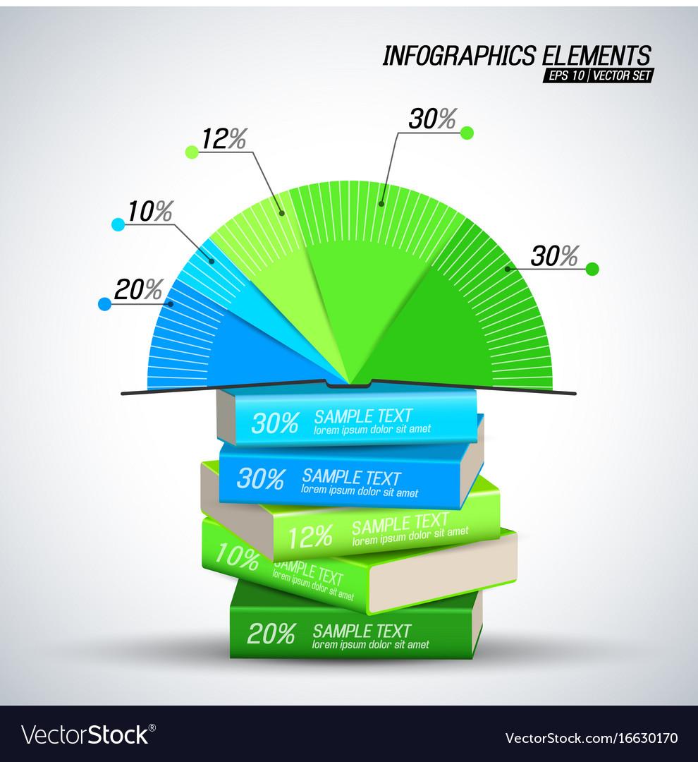 Business infographics elements concept