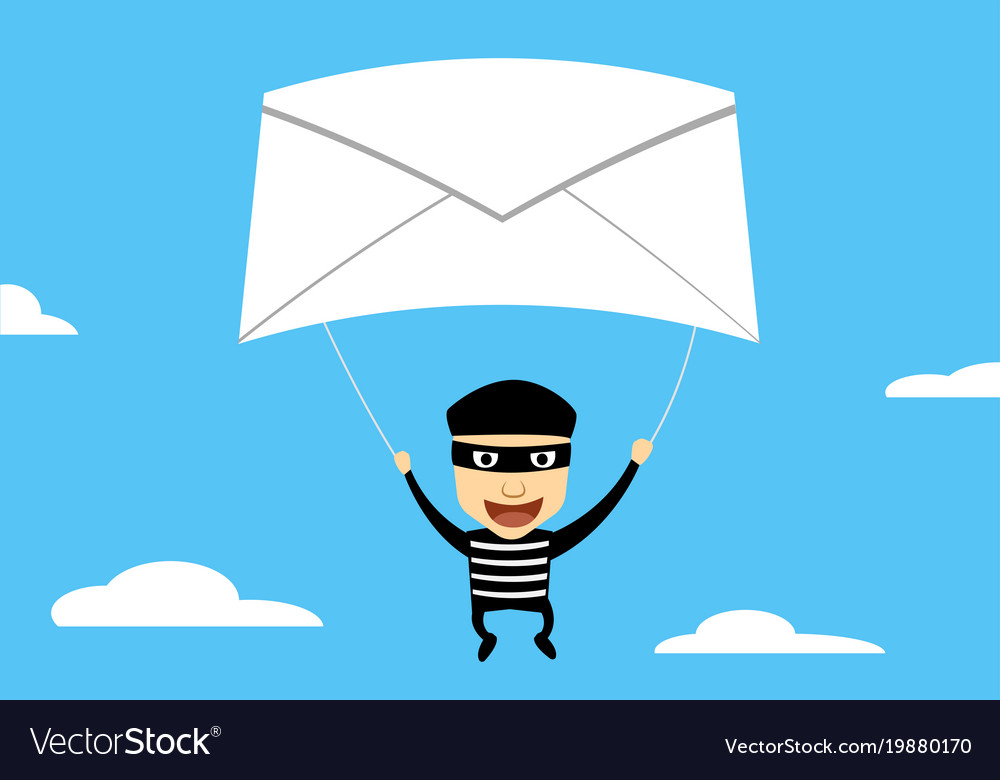 Thief use phishing mail to hacking