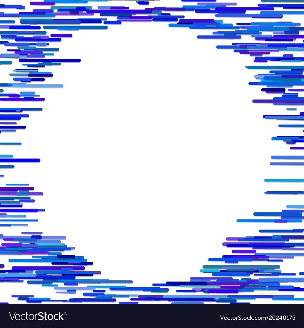 Blue abstract horizontal stripe background design