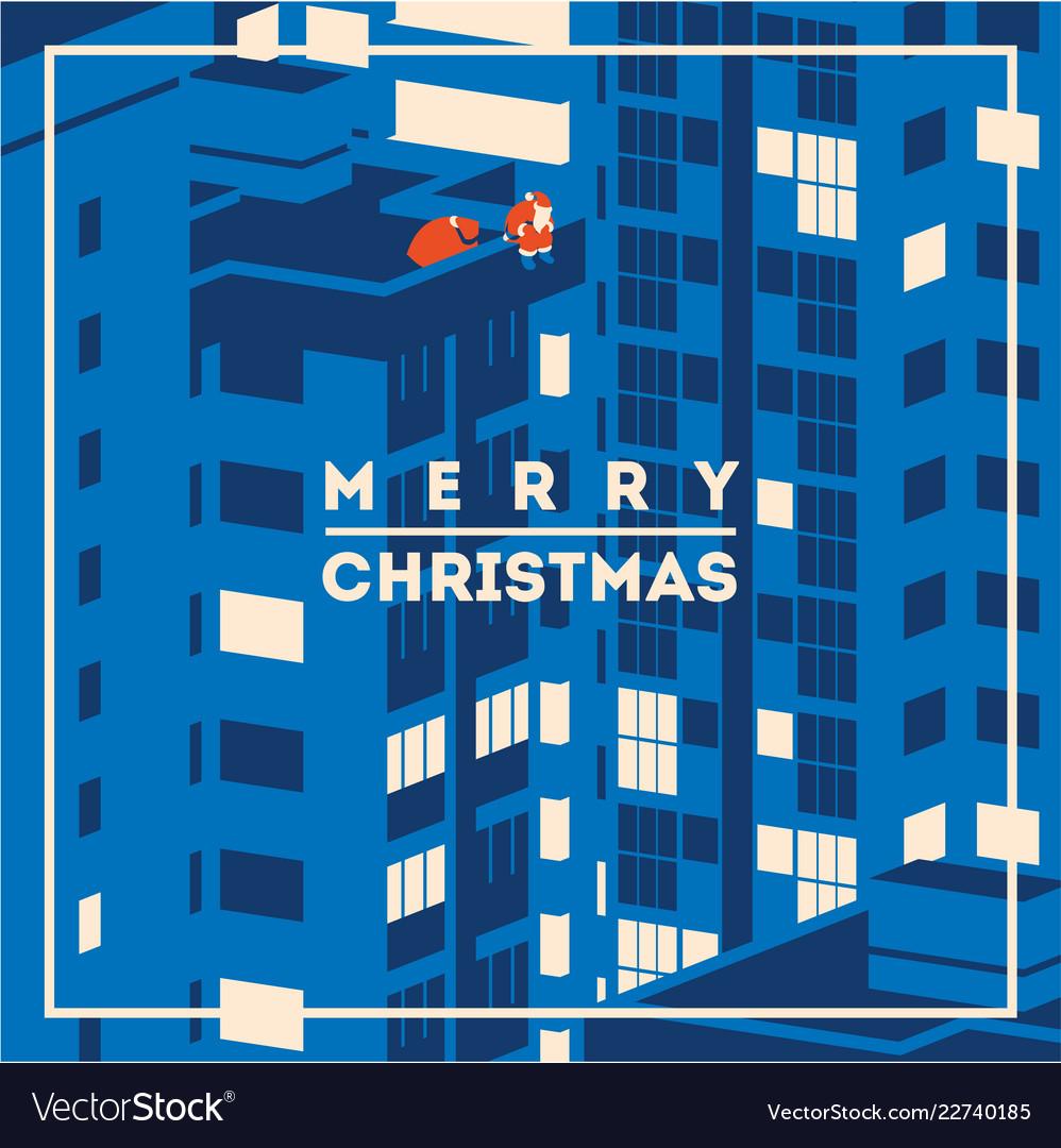 Merry christmas minimalistic