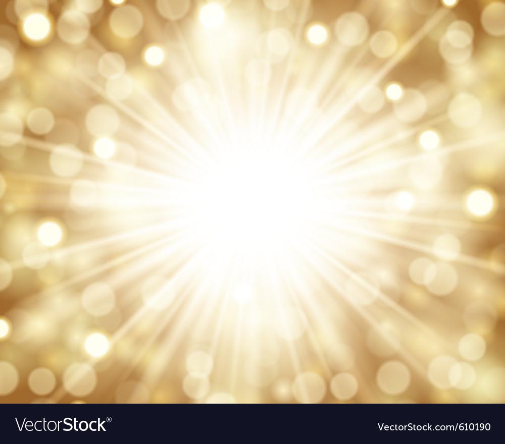 Lens flare light vector image