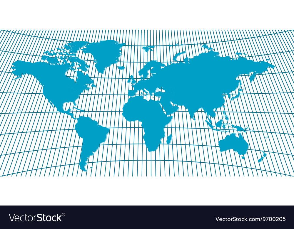 Background WORLD MAP Globus