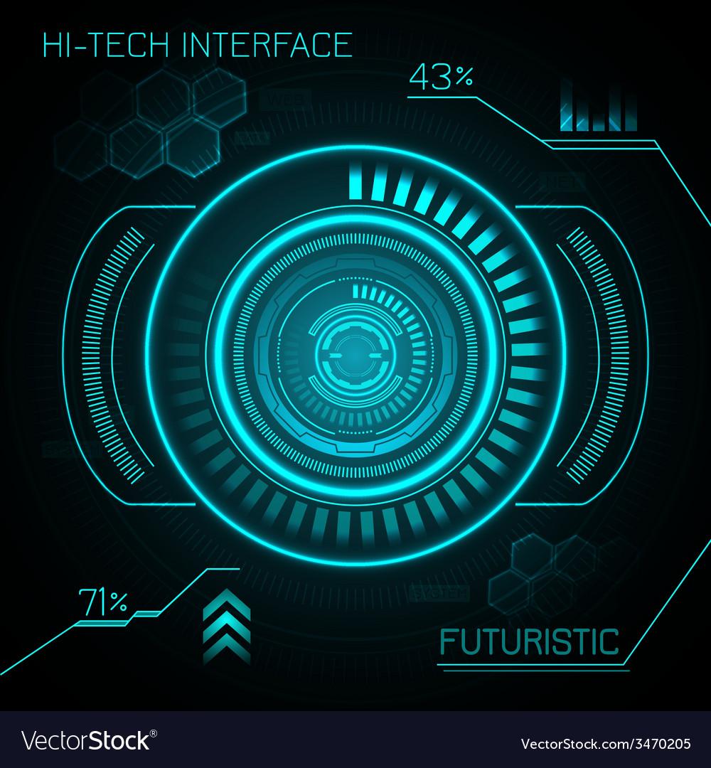 Hud Futuristic Background