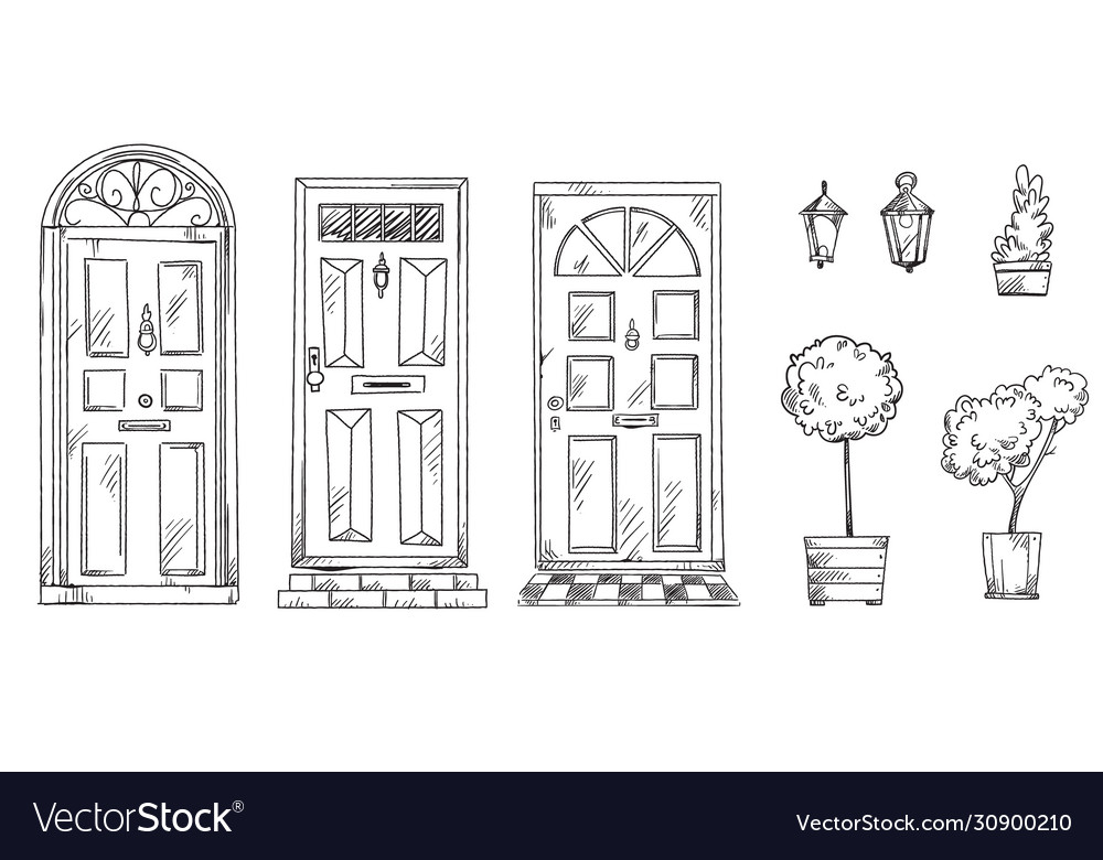 Collection british traditional doors