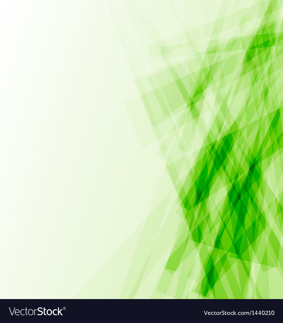green business card abstract background royalty free vector