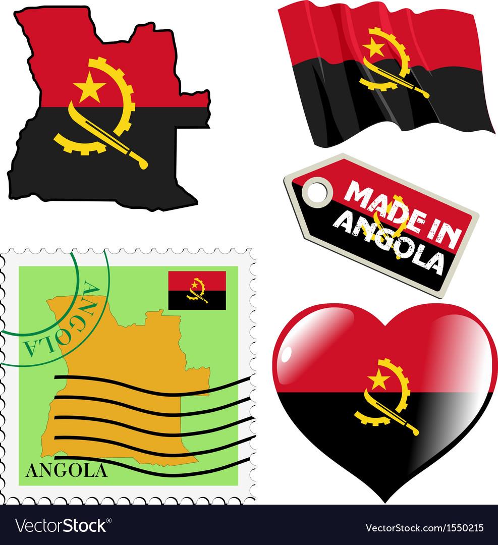 National colours of Angola