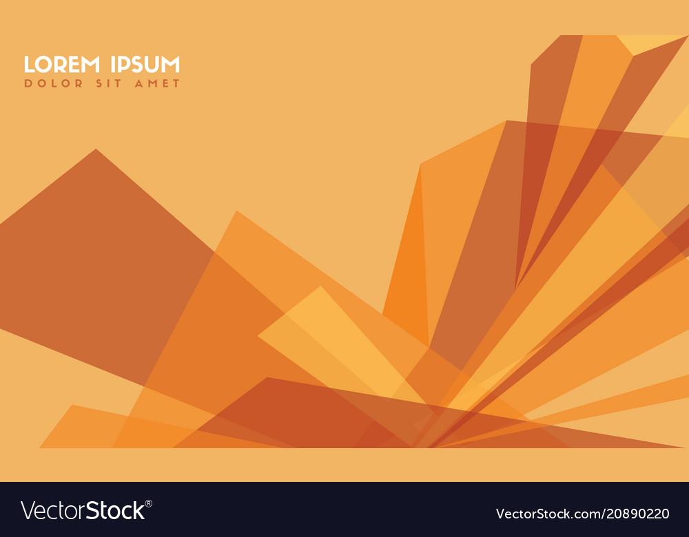 Abstract Background Orange Modern Wallpaper