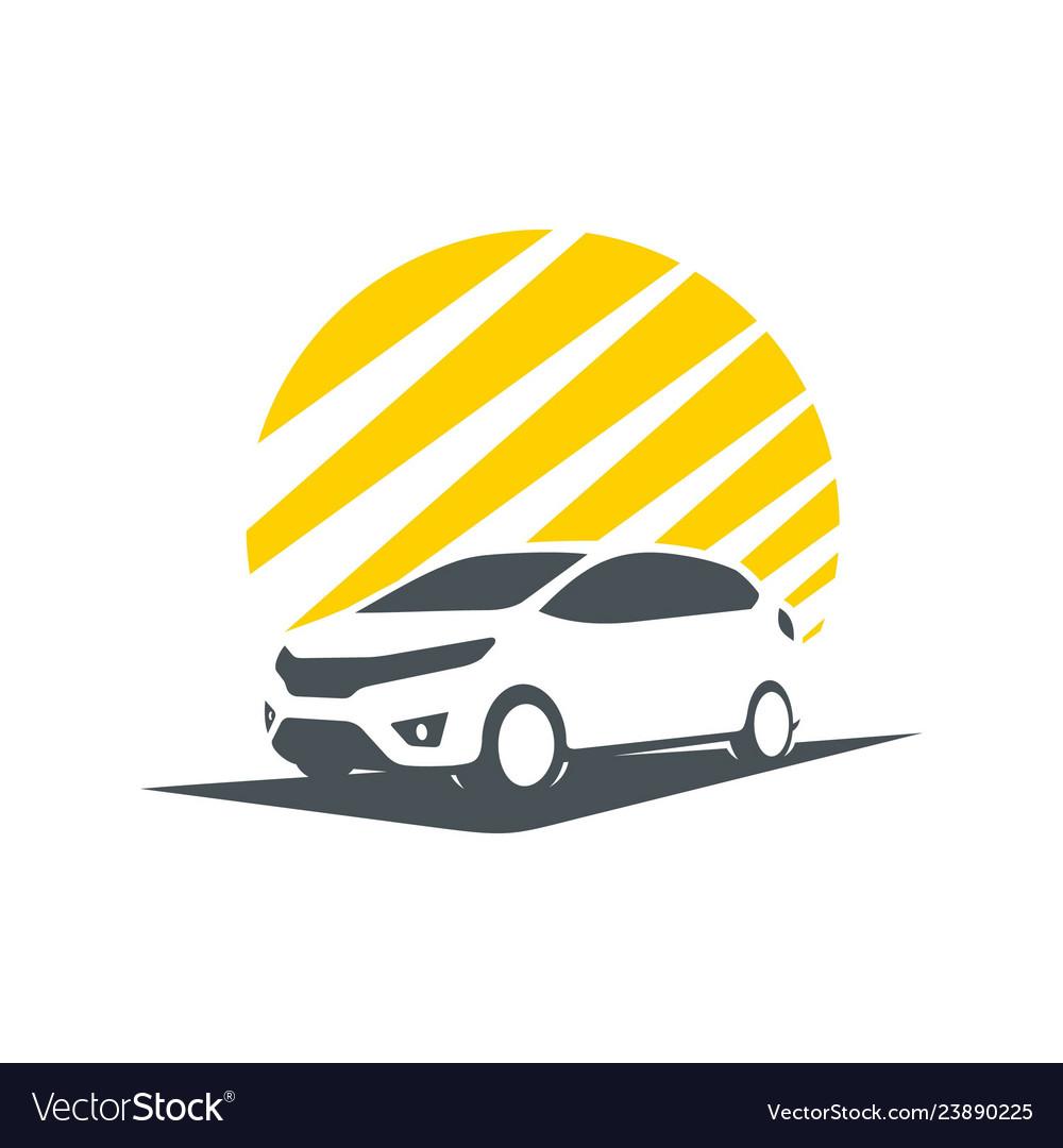 Shadow of city car