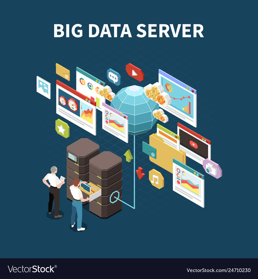 Big data analytics isolated composition