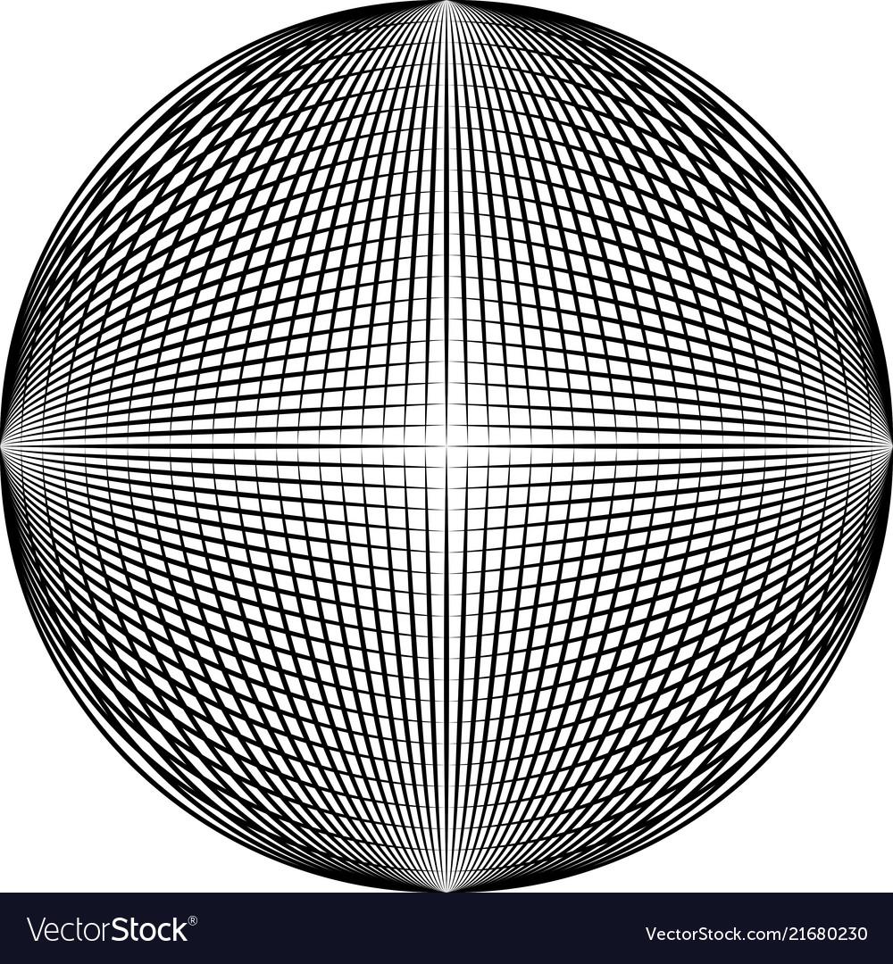 Circle blend object