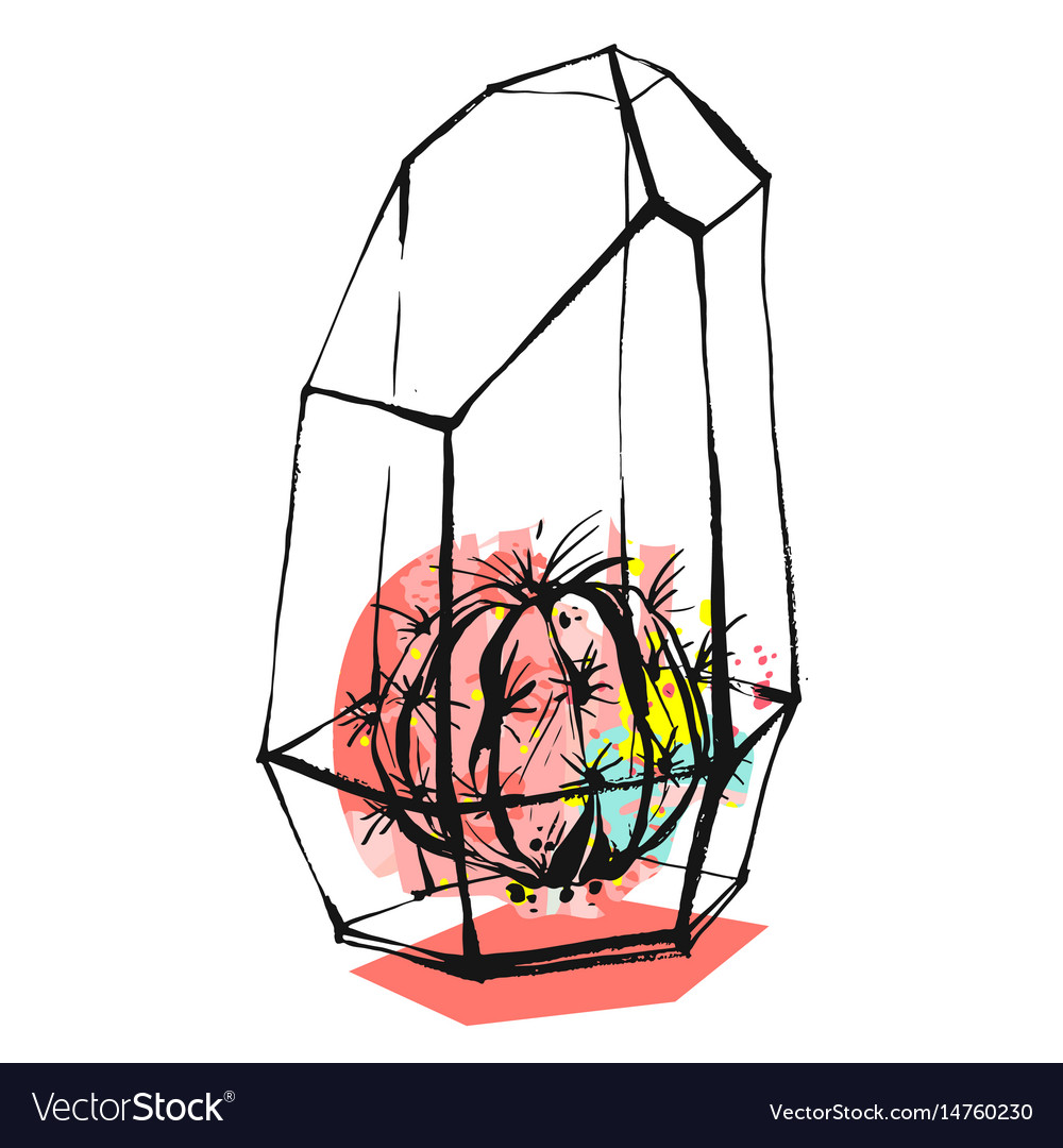 Hand drawn abstract graphic vector image