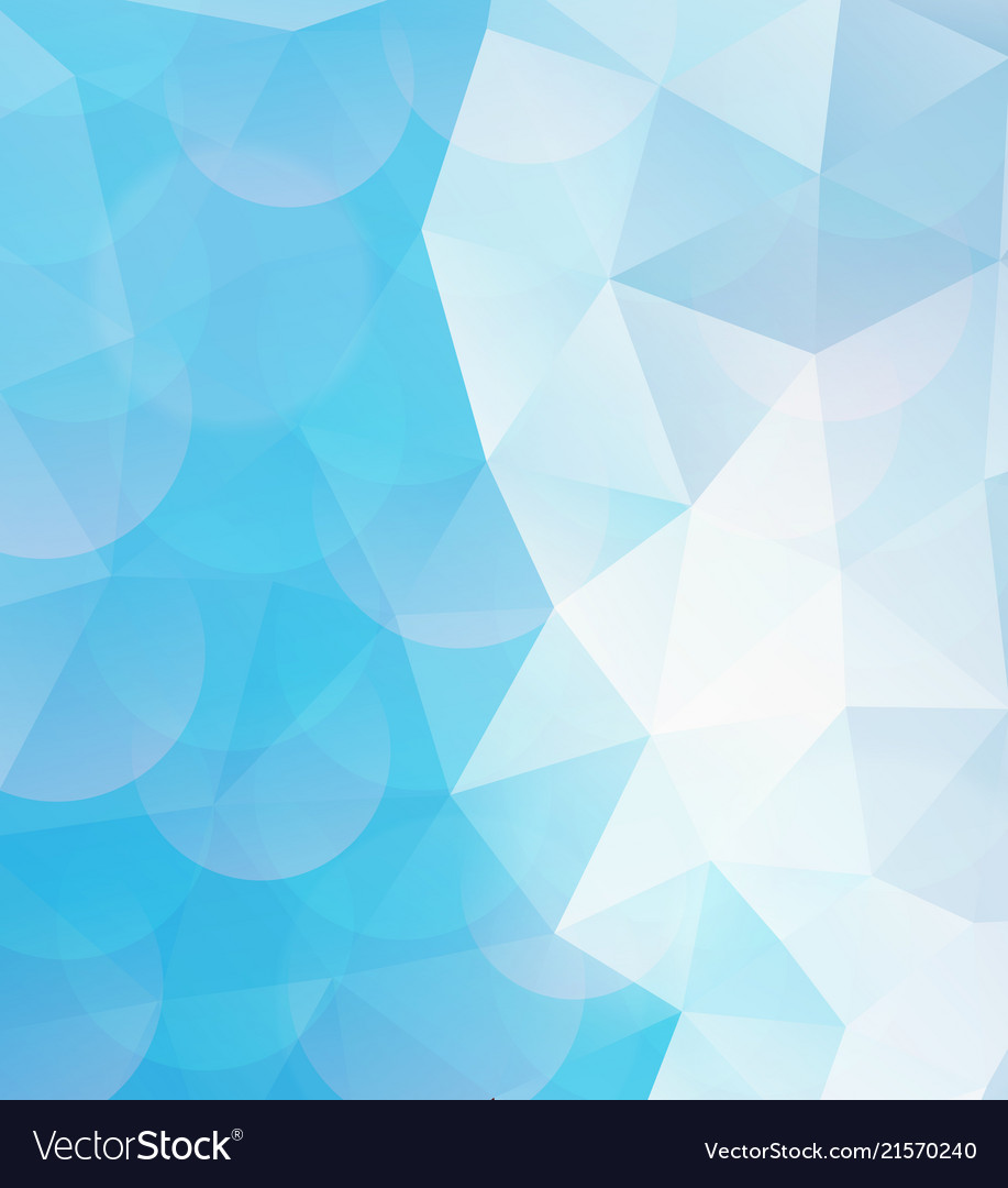 Blue geometric pattern abstract background