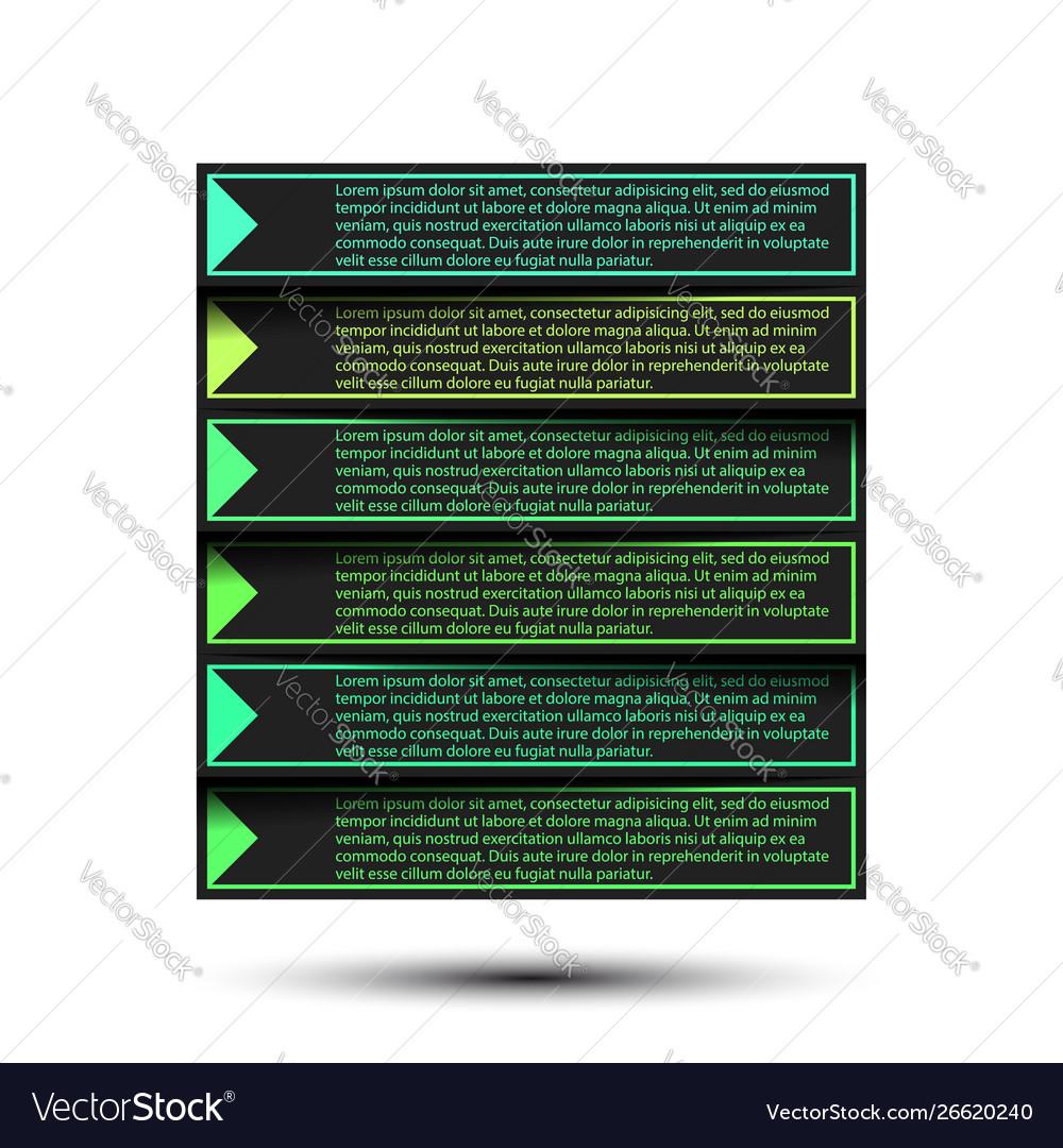 Paper progress steps for tutorial