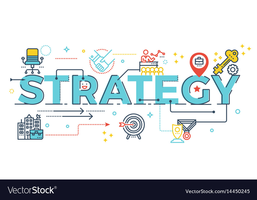 Strategy word lettering