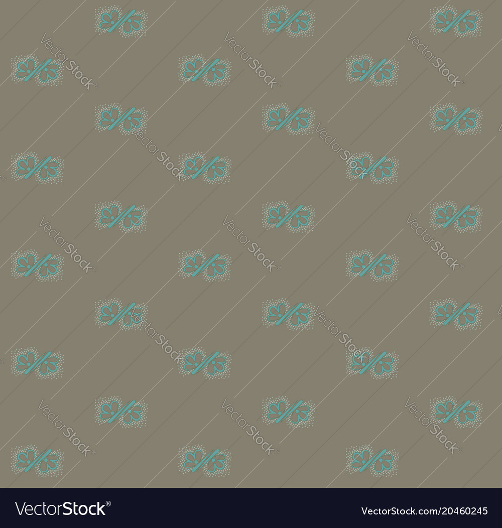 Vintage pattern with flowers