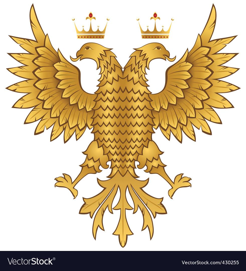 Golden Eagle Royalty Free Vector Image Vectorstock