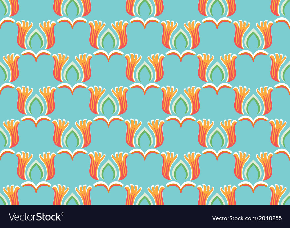 Thai element art abstract background vector image