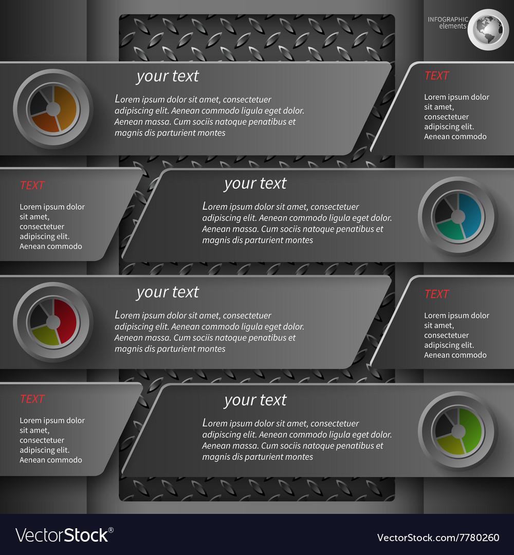 Dark infographics 5