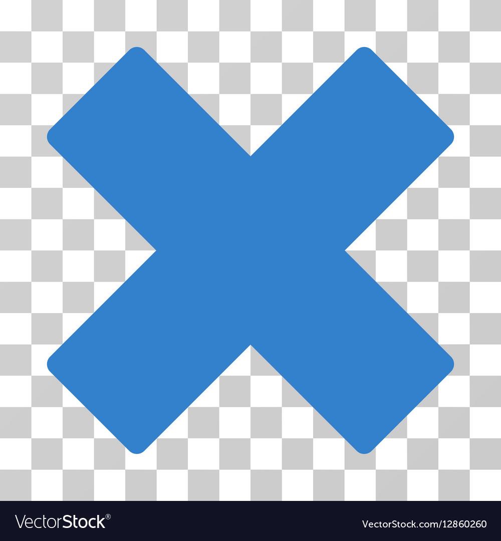 Delete X-Cross Icon Royalty Free Vector Image - VectorStock