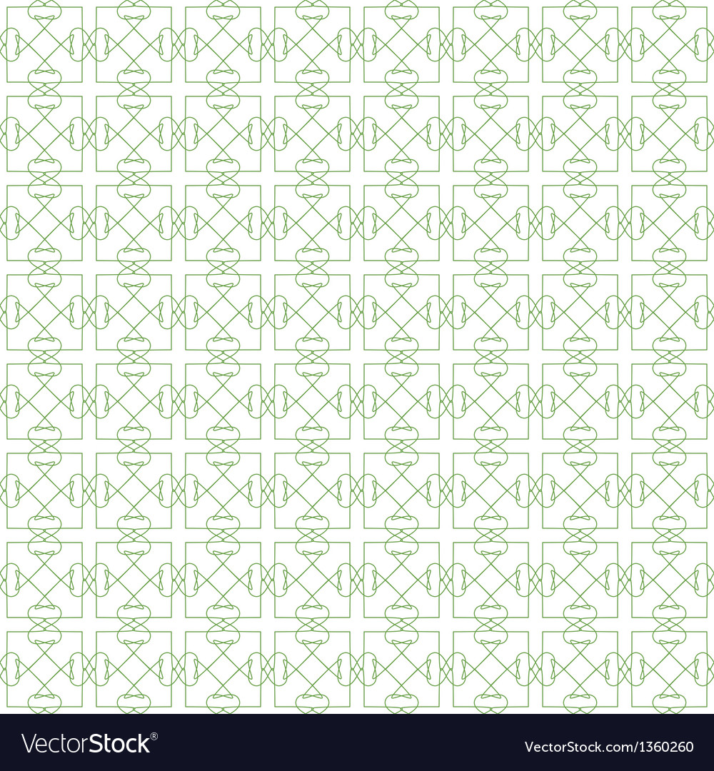 Green Seamless Guilloche Background