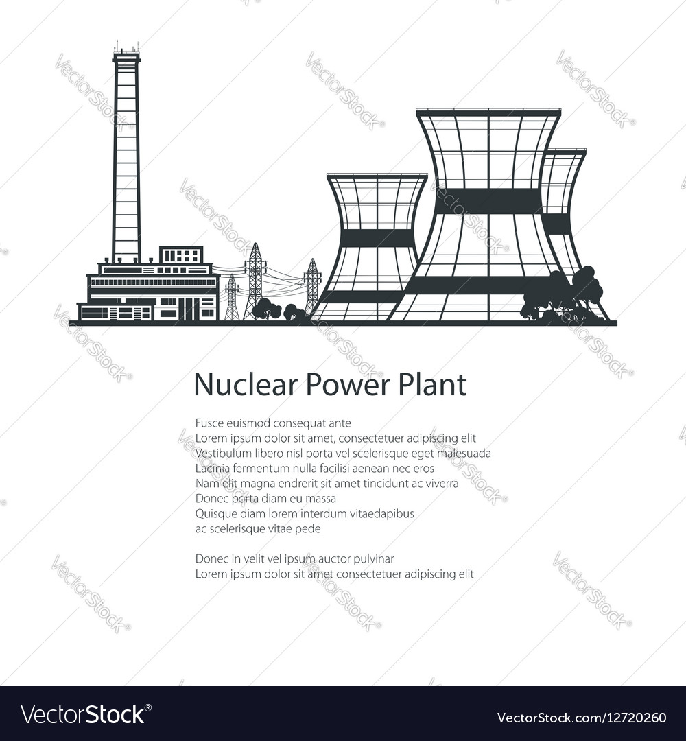 Thermal Power Station Poster Brochure Design