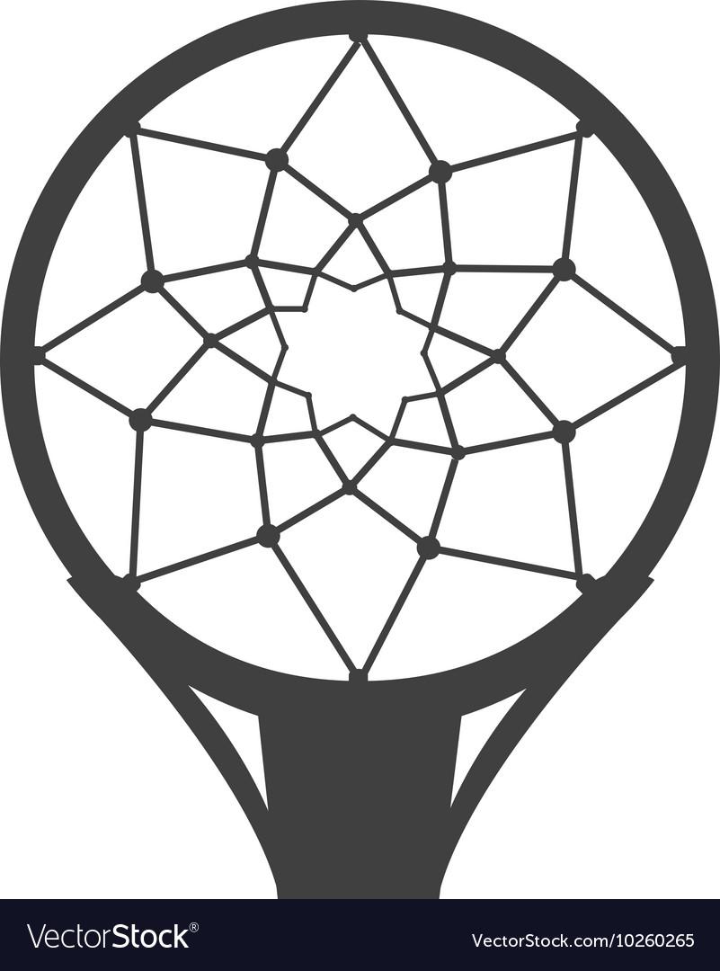 Hoop net basketball