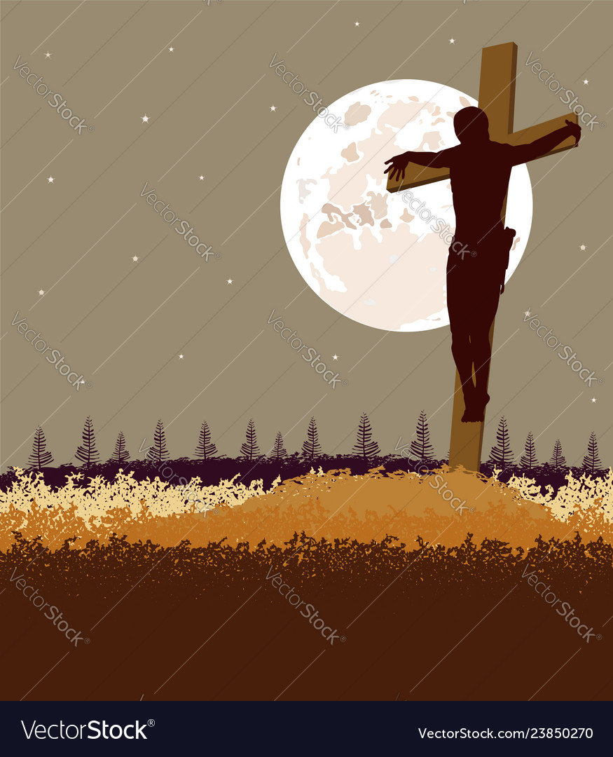 Background of jesus fromt the cross