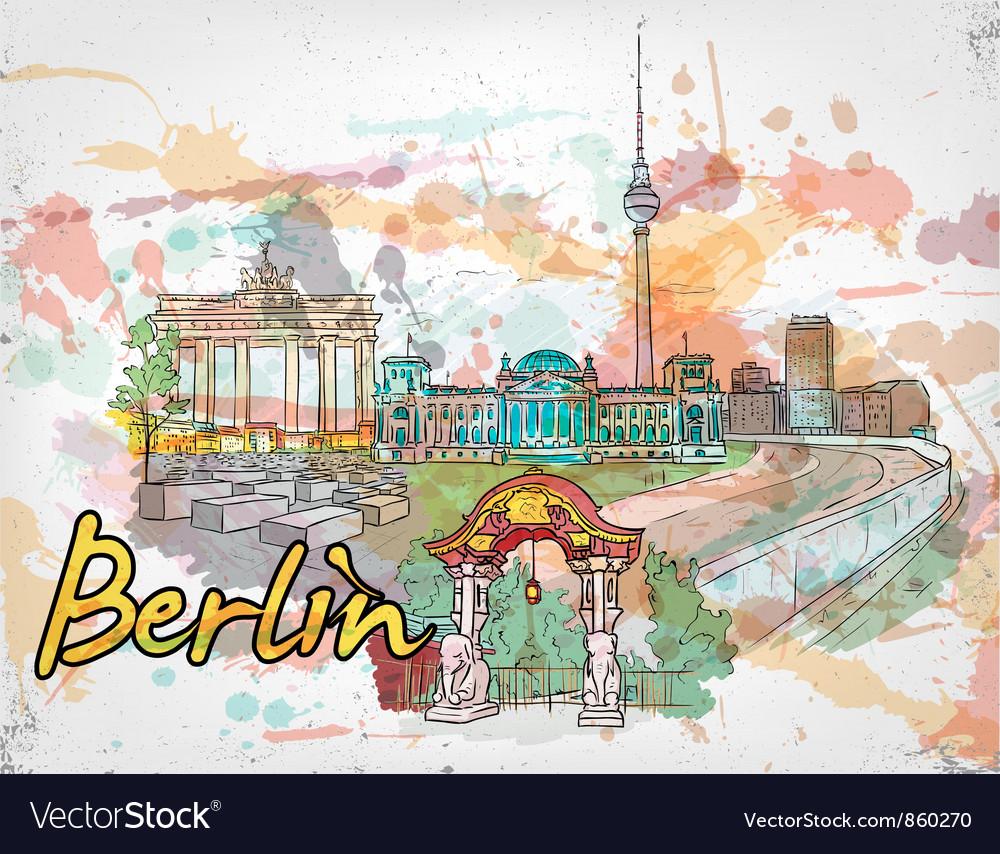 Berlin doodles